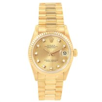 Rolex 68278 Yellow gold 1986 Datejust 31mm pre-owned United States of America, Georgia, Atlanta
