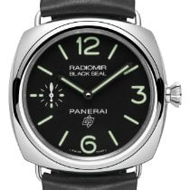 Panerai Radiomir Black Seal new 2019 Manual winding Watch with original box and original papers PAM 00754