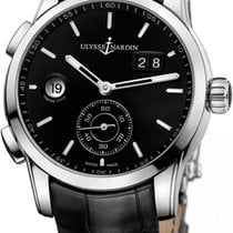 Ulysse Nardin Dual Time 3343-126/92 New Steel 42mm Automatic United States of America, New York, New York