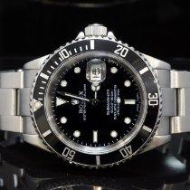Rolex 16610 Steel 2003 Submariner Date 40mm pre-owned United Kingdom, Essex