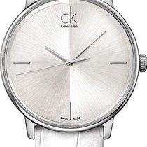 ck Calvin Klein Ατσάλι 41mm Χαλαζίας K2Y2X1K6 καινούριο