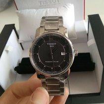 Tissot Titanium Automatic Titanium 40mm Black Arabic numerals