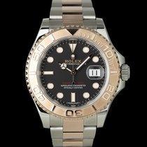 Rolex Yacht-Master 40 Gold/Steel 40mm Black