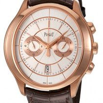 Piaget Rose gold Automatic White 43mm new Gouverneur