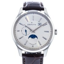 Zenith pre-owned Automatic 40mm Silver Sapphire Glass