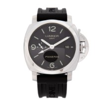 Panerai Luminor 1950 3 Days GMT Automatic PAM 00320 2017 pre-owned