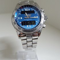 Breitling B-1 Staal 42mm Blauw