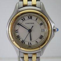 Cartier Cougar Gold/Stahl 26mm Champagnerfarben Römisch