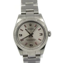 Rolex Oyster Perpetual 31 Steel 31mm Silver Roman numerals United States of America, New York, New York