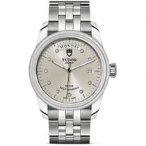 Tudor Steel Automatic Silver 39mm new Glamour Date-Day