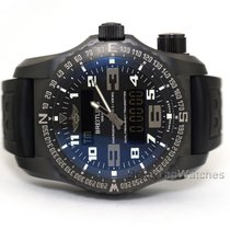 Breitling Emergency Титан 51mm Чёрный