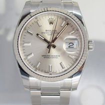 Rolex Oyster Perpetual Date Acier 34mm Argent France, Cannes