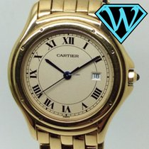 Cartier Cougar  solid gold 33mm