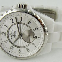 Chanel J12 Automatic White Ceramic 36.5 mm H3837