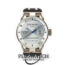 Locman new Automatic Rotating Bezel Screw-Down Crown 44mm Steel Sapphire crystal