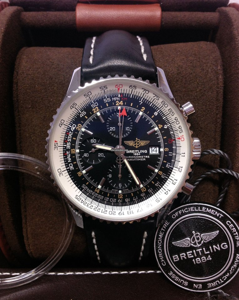 Breitling Navitimer World A24322 Box Papers 2016