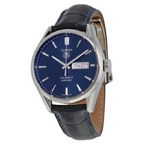 TAG Heuer Men's  WAR201E.FC6292 Carrera Calibre 5 Calibre 5...