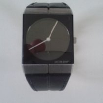 Jacob Jensen Icon Unisex Analogue Leather Quartz Watch - Jacob...