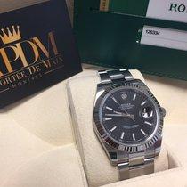 Rolex Datejust II Acier 41mm Noir Sans chiffres France, MARSEILLE