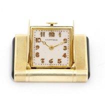 Cartier Vintage Art Deco Cartier 14K Gold & Black Enamel Purse...