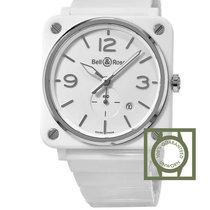 Bell & Ross Aviation White Ceramic Watch