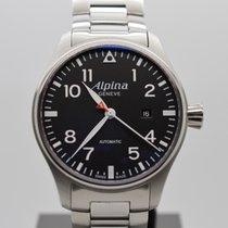 Alpina Startimer Pilot Automatic LIKE NEW B+P extra leather...