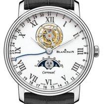 Blancpain Platinum Automatic White Roman numerals 42mm new Villeret Moonphase