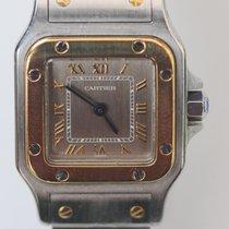 Cartier 24mm Cuarzo 1993 usados Santos Galbée Gris