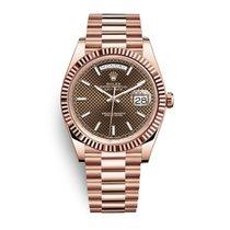 Rolex Day-Date 40 Rose gold 40mm Brown UAE, Dubai