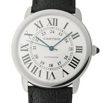 Cartier Ronde Croisière de Cartier Steel 42mm Silver United States of America, New York, New York