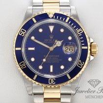 Rolex Submariner Date 16613 Stahl Gold 750 Automatik Taucheruhr