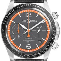 Bell & Ross BR V2 nou 2019 Atomat Cronograf Ceas cu cutie originală și documente originale