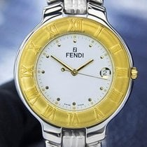 Fendi Orologi 900G Unisex Gold-Plated Stainless Steel Swiss...
