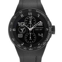 Porsche Design Chronograph 44.5mm Automatic new Flat Six Black