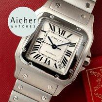 Cartier Santos Galbée Acero 32mm Blanco Romanos España, Madrid