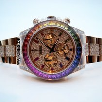 Rolex 116595RBOW Ouro rosa Daytona 40mm