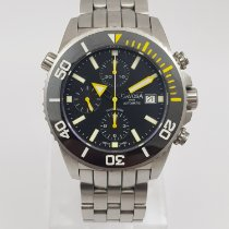 Davosa Chronograph 42mm Automatik 2014 gebraucht Argonautic Ceramic Schwarz