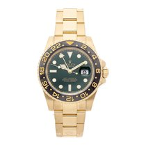 Rolex 116718LN Geelgoud GMT-Master II 40mm tweedehands