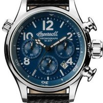 Ingersoll Steel Chronograph I02001 new