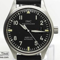 IWC pre-owned Automatic 41mm Black Sapphire Glass