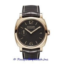 Panerai Rose gold Manual winding Brown Arabic numerals 47mm pre-owned Radiomir 1940 3 Days
