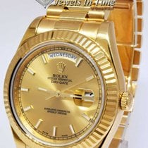 Rolex Day-Date II Yellow gold 41mm Champagne No numerals United States of America, Florida, 33431