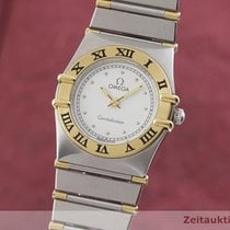 Omega Constellation Ladies Gold/Steel 22.5mm White