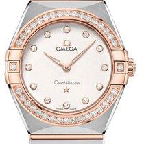 Omega Constellation Quartz neu 2020 Quarz Uhr mit Original-Box und Original-Papieren 131.25.28.60.52.001