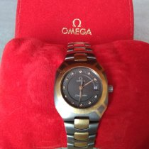 Omega Tantale Argent Sans chiffres 25mm occasion Seamaster