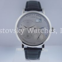 A. Lange & Söhne Grand Lange 1 Platinum Silver Roman numerals United States of America, California, Beverly Hills