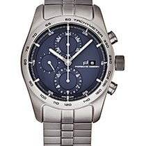 Porsche Design Chronotimer Titanium 42mm Blue