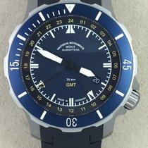 格拉苏蒂 Seebataillon GMT 钛 45,0mm 蓝色 无数字