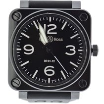 Bell & Ross BR 01-92 new Automatic Watch with original box and original papers 01-92