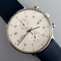 Junghans Steel Quartz White Arabic numerals 40mm new FORM C